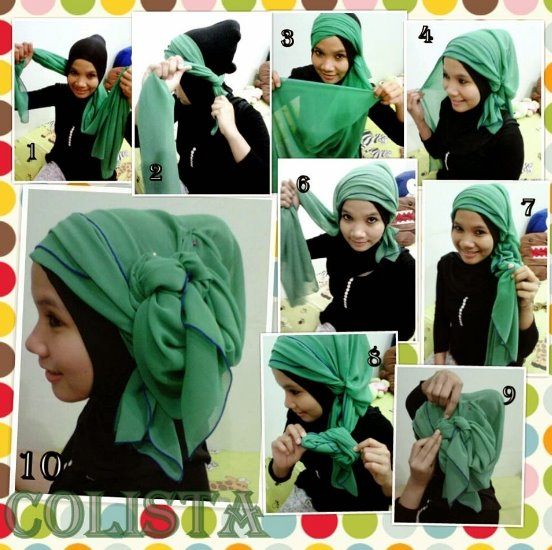 9 Tutorial Hijab Pashmina untuk Kebaya yang Elegan dan