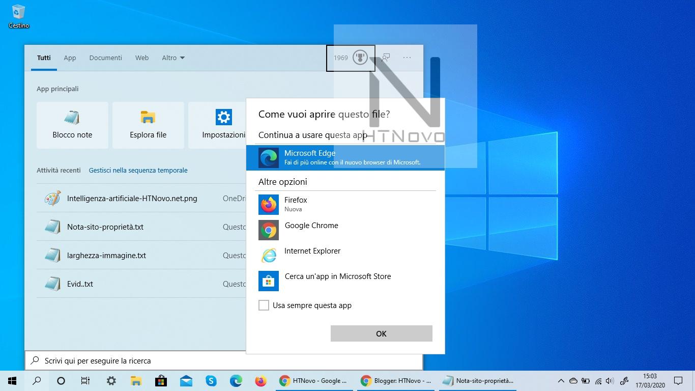 Ricerca in Windows 10 si aggiorna con l'integrazione di Microsoft Rewards