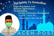 Dinas Peternakan Aceh Mengucapkan Selamat Menunaikan Ibadah Puasa 1441H/ 2020M