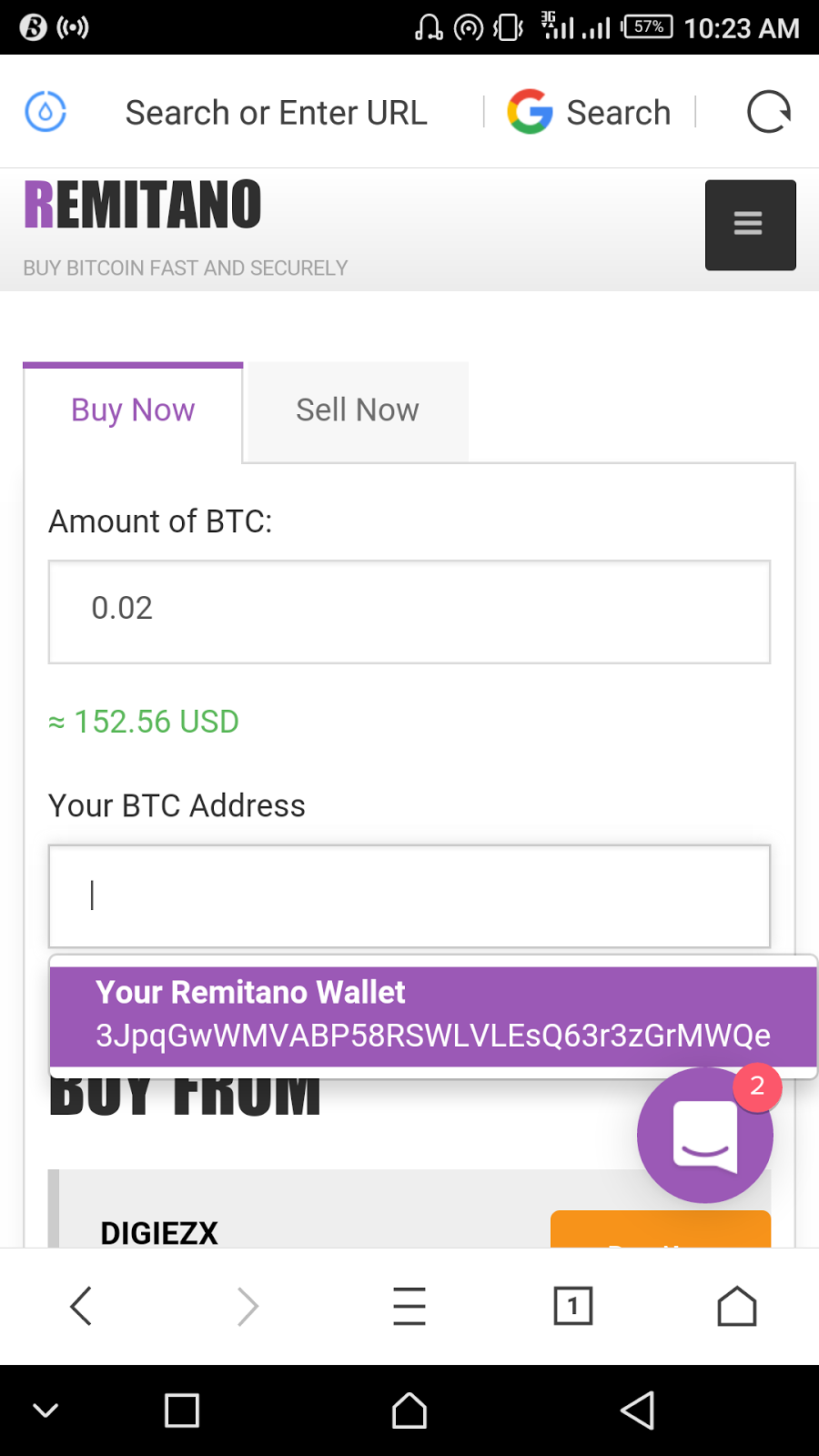 Step by step guide to creating a buy bitcoin order in remitano remitano2g ccuart Images