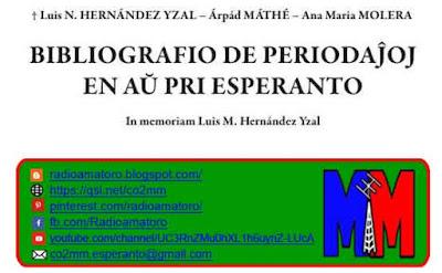 Kovrilpaĝo de Bibliografio de periodaĵoj en aŭ pri Esperanto (BPEAPE)