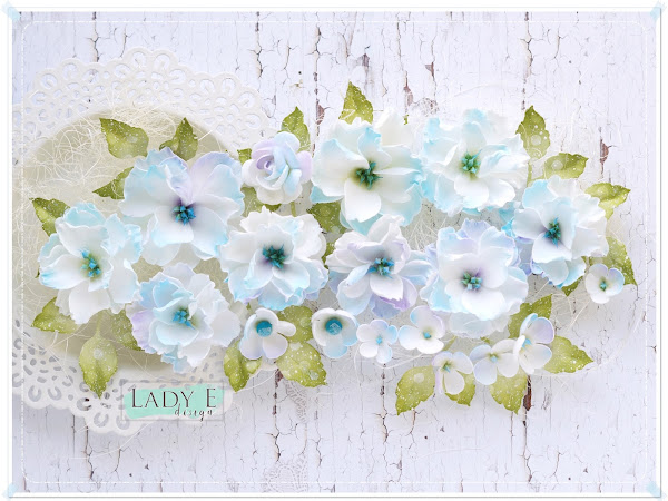 Shabby Chic Foamiran Flowers & Video Tutorial