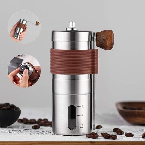 ZEAVAN Manual Stainless Steel Coffee Grinder