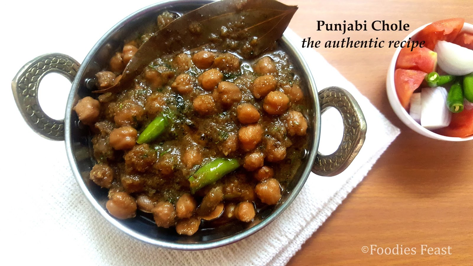 How to make the authentic punjabi chole punjabi chole for Authentic punjabi cuisine