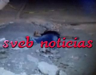 Un ejecutado la madrugada de este Lunes en Poza Rica Veracruz