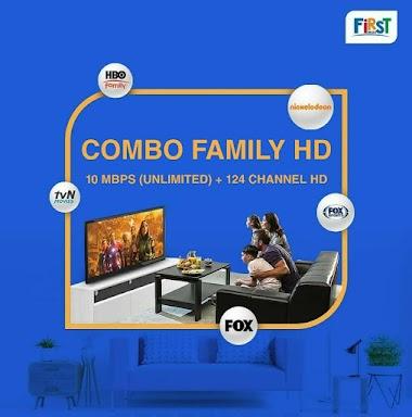 Paket Combo FAMILY HD