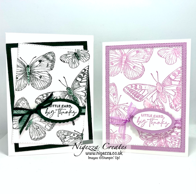 Butterfly Brilliance #simplestamping Card