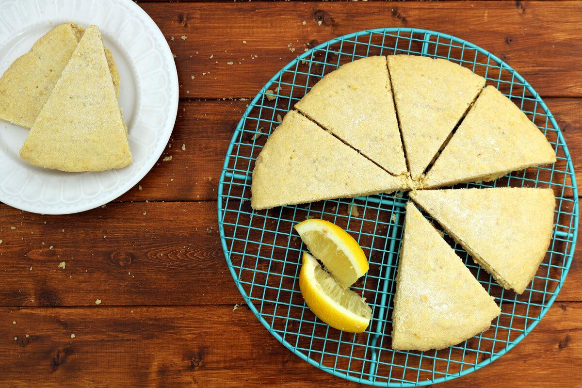 Bake Off Bake Along | Lemon and Elderflower Shortbread | Take Some Whisks