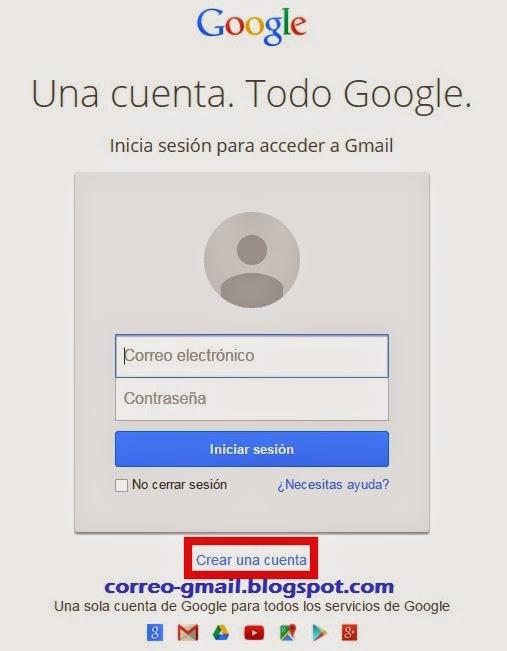 Correo Gmail Crear Correo Gmail
