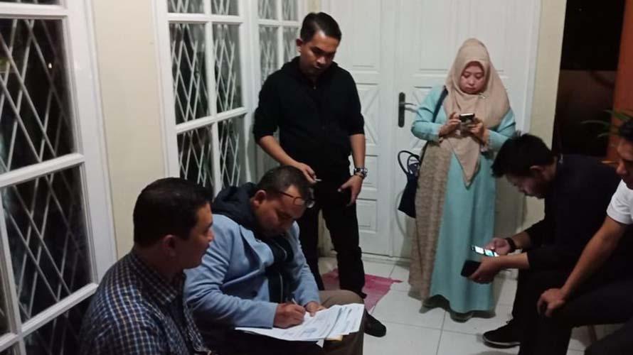 Mustofa Nahrawardaya ditangkap