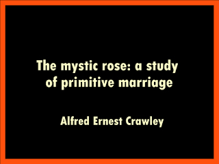 The mystic rose: a study of primitive marriage