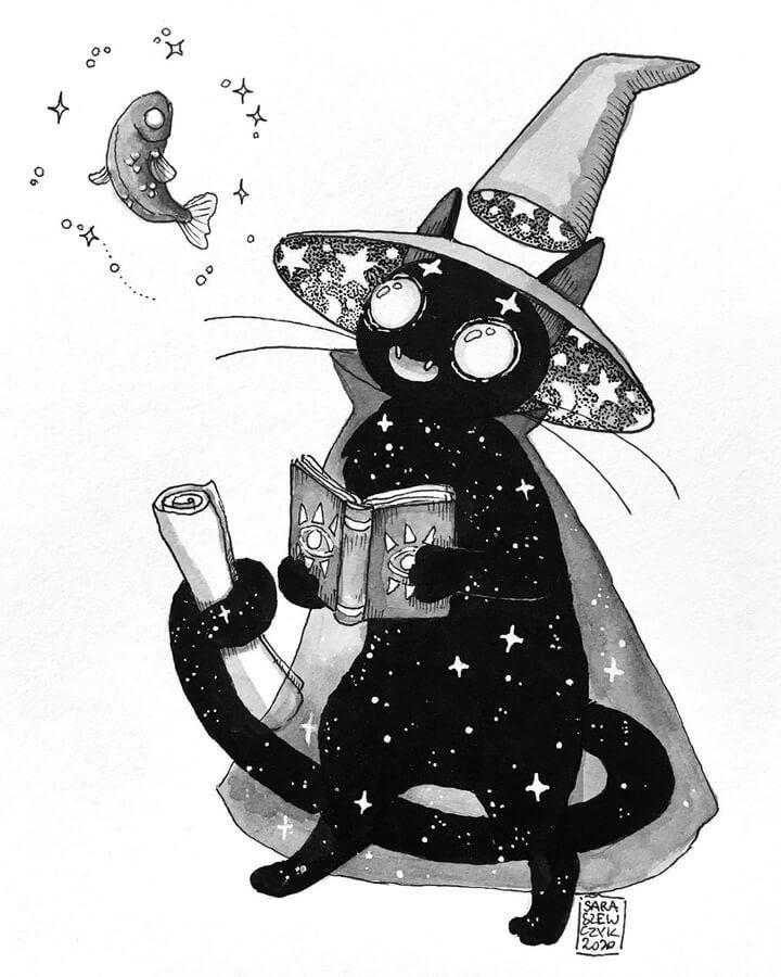01-Witch-cat-Sara-Szewczyk-www-designstack-co
