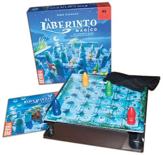 como jugar al juego de tablero el laberinto mágico