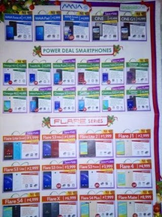 5-inch Screen Size Cherry Mobile Phones Price List