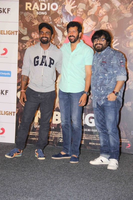 Kabir Khan and Remo Launched Salman Khan Tubelight First Song