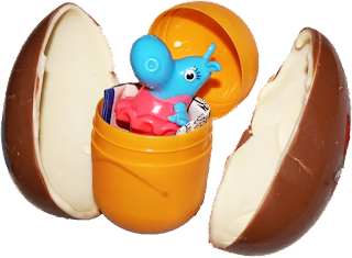 Salice had the idea to include a free toy inside the Kinder Egg's chocolate shell