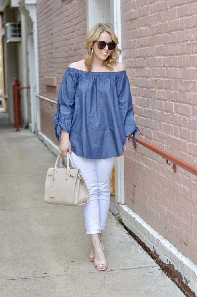 Cute Off the Shoulder Tops for Spring and Summer