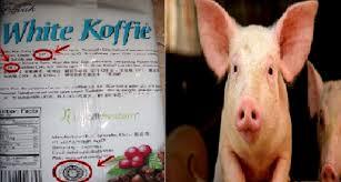 Minuman White Kofie Ini Terbukti Mengandung Babi.
