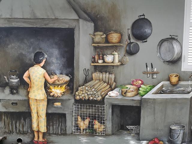 Chinatown mural - My Chinatown Home