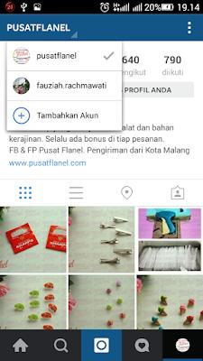 Cara Bikin Multiple Account di  Instagram