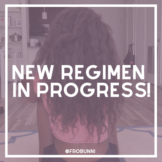 New regimen in progress header image