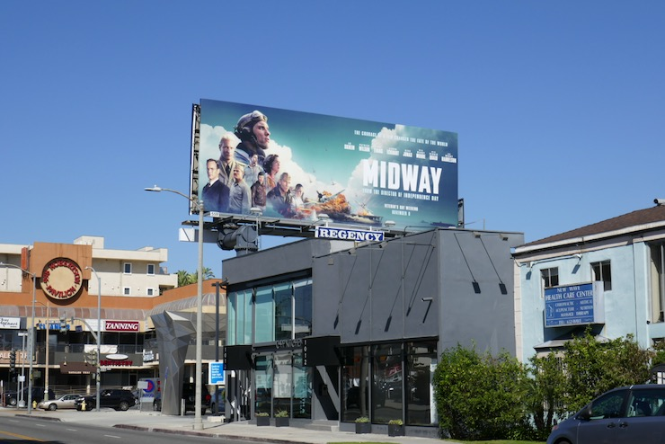 Midway movie billboard