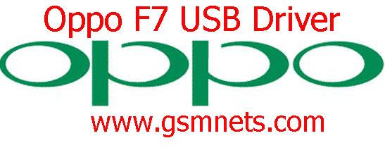 Oppo F7 USB Driver Download