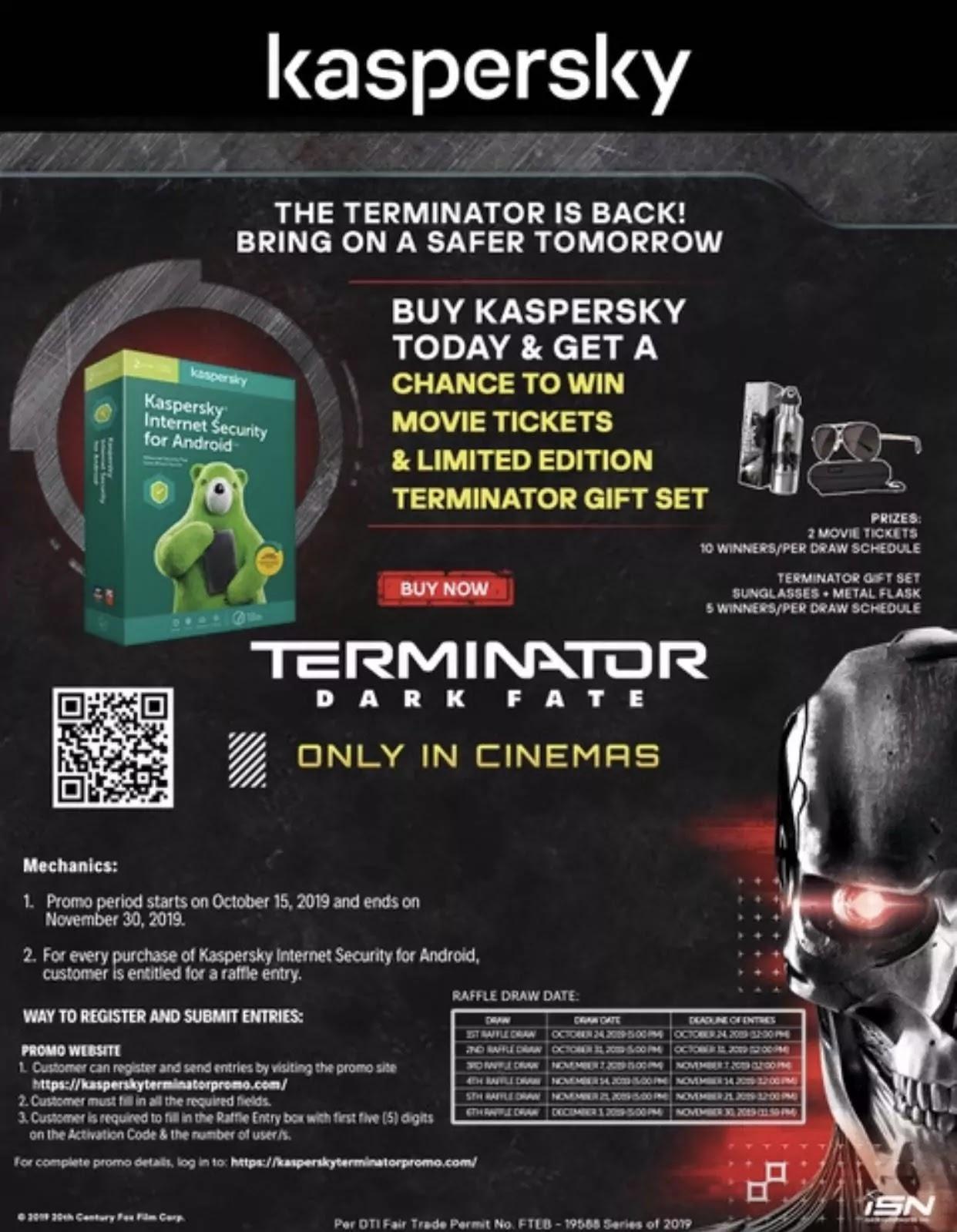 Kaspersky Terminator Promo