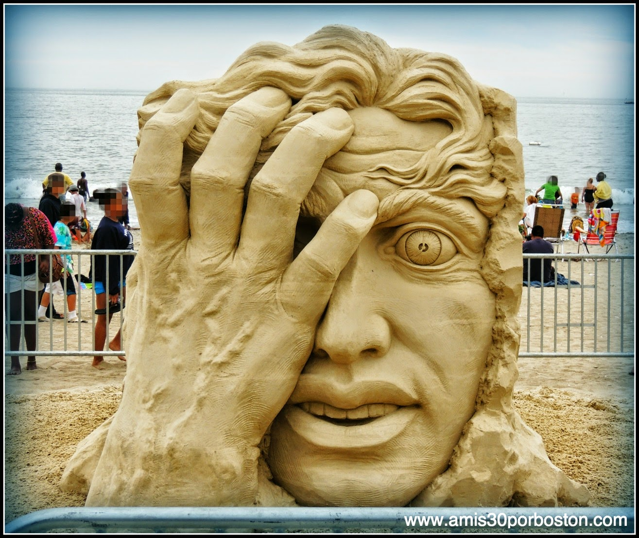 "Revere Beach 2014 National Sand Sculpting Festival: ""Time is Running Out"""