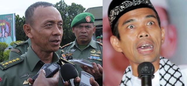 Diculik 'KSAD', Ustaz Abdul Somad Diperintah Untuk Lakukan Hal Ini di Mabes TNI