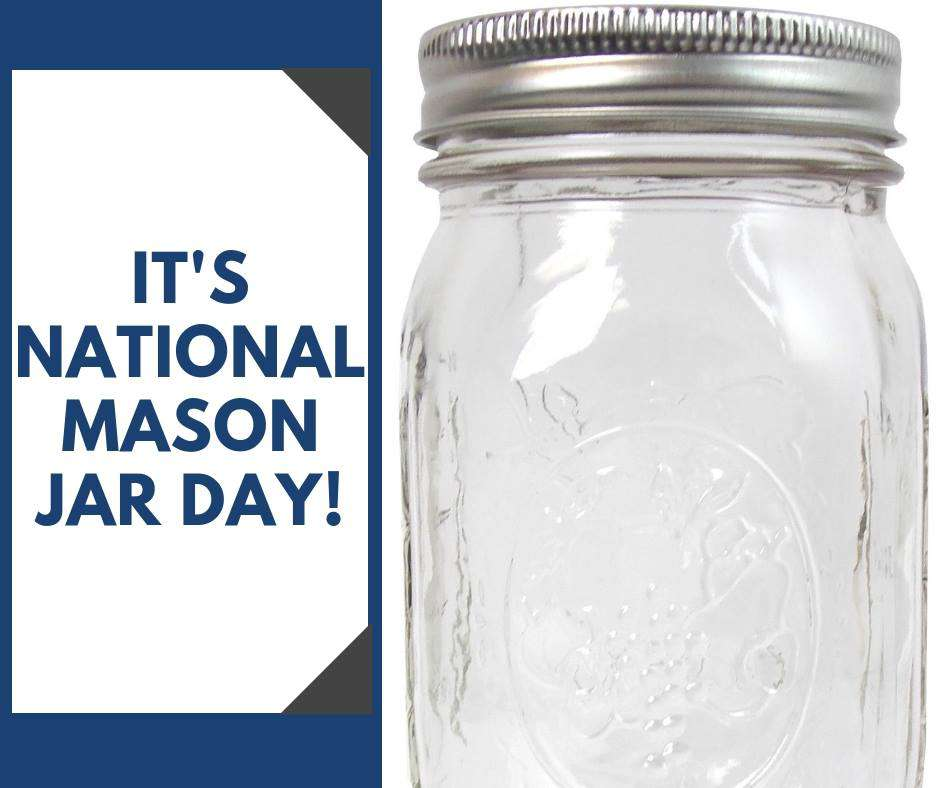 National Mason Jar Day Wishes Pics