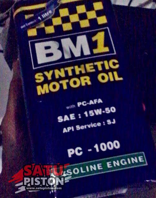 Review Oli BM1 PC 1000 15W-50