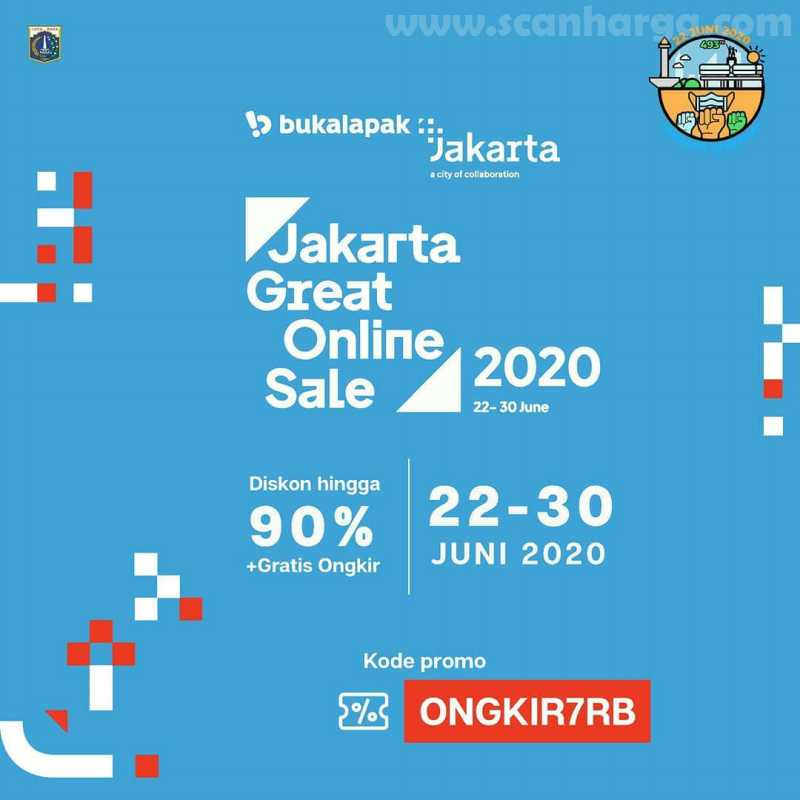 Bukalapak Promo Jakarta Great Online Sale 2020 Hut Jakarta 943
