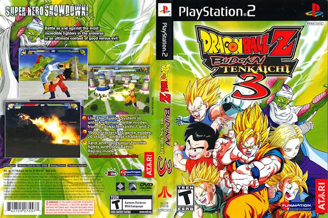 Descargar Dragon Ball Z - Budokai Tenkaichi 3 ps2 iso NTSC-PAL: Publicado originalmente como Dragon Ball Z - Sparking! METEOR (ドラゴンボールZ Sparking! METEOR Doragon Bōru Zetto Supākingu! Meteo?) en Japón, es el tercer juego de la serie Budokai Tenkaichi.