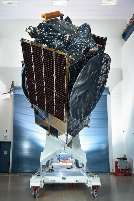 Penampakan Satelit Merah Putih Milik Telkom.