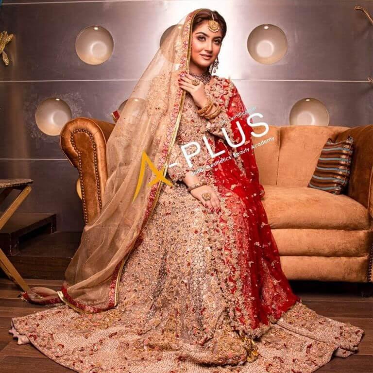 Hiba Bukhari Traditional Bridal Photoshoot