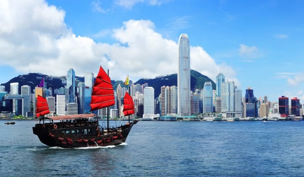 Hongkong harbor