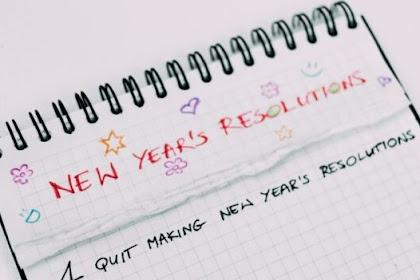 [LENGKAP] Resolusi Tahun Baru 2021 yang Inspiratif