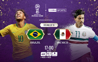 Brazil vs Mexico Live Streaming online Today 2.07.2018 World Cup Russia 2018
