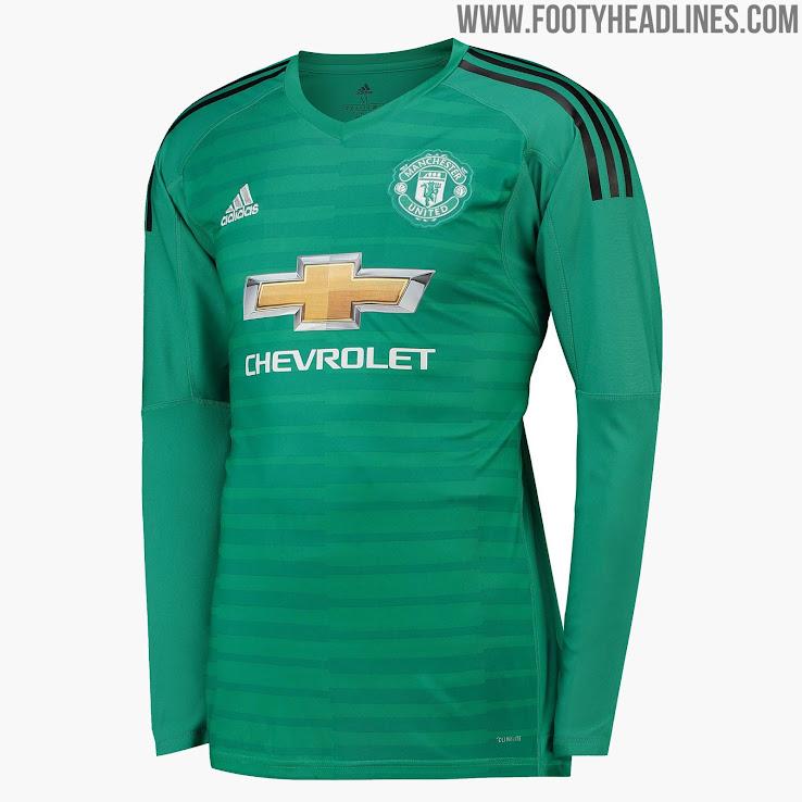 9527b1dbde1 Manchester United 18-19 Goalkeeper Kit Released - Footy Headlines