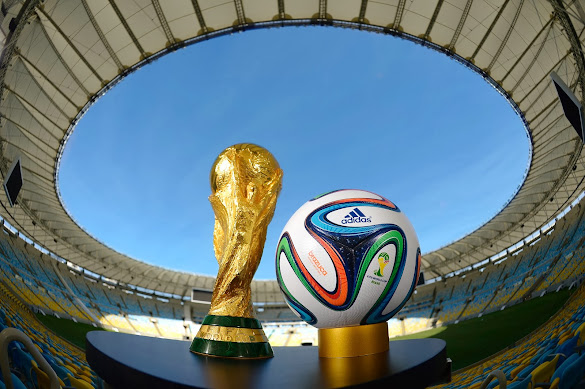 adidas brazuca FIFA world cup trophy