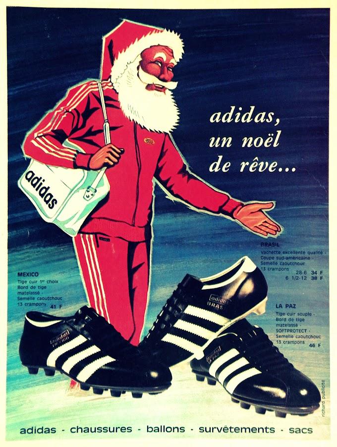 PUB. Adidas. Noël de rêve.