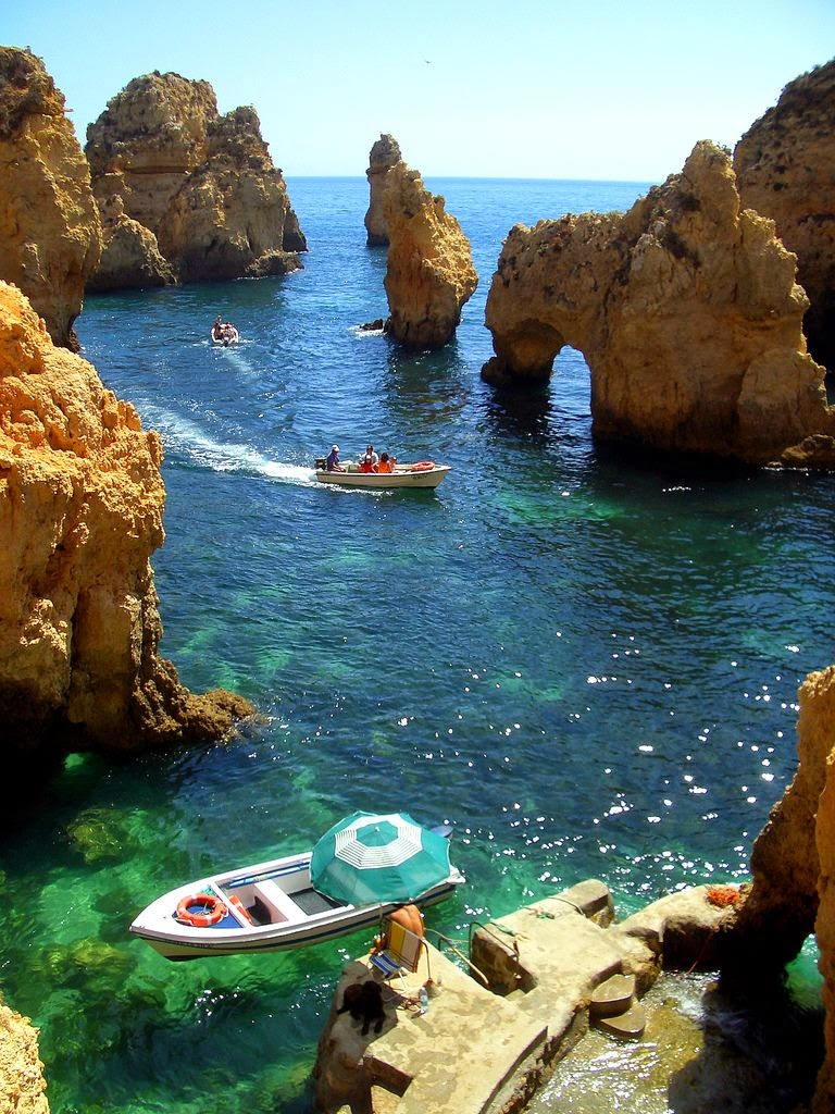 10 Hottest Summer Destinations In Europe | Ponta da piedade on algarve coast portugal
