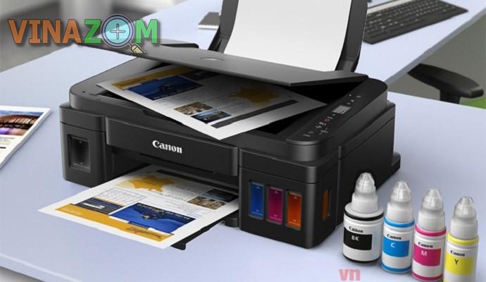 Đánh giá máy in Canon G2010