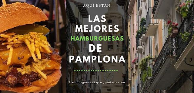 Las mejores hamburguesas de Pamplona