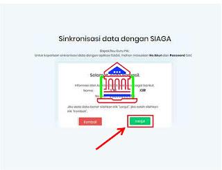 sinkronisasi data ppkb dengan siaga pendis