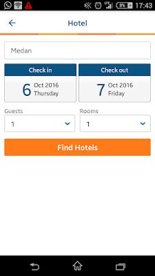 cara booking hotel online di Medan