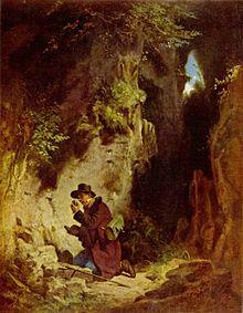 The Geologist - Carl Spitzweg, circa 1860