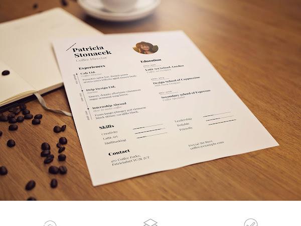 Download Free PSD Paper Mockup