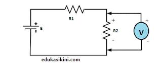 rangkaian voltmeter